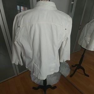 Mossimo Supply Co. Jackets & Coats - White denim jacket